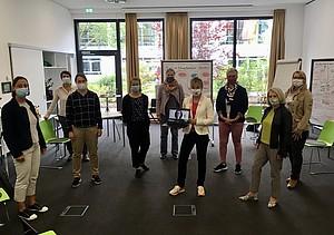 Alle Teilnehmenden an der Klausurtagung der Sprecherinnen-Gruppe in Frankfurt/Main. Foto: DOSB
