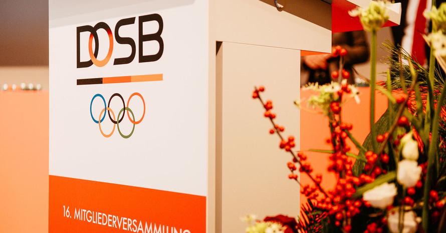 Die 16. Mitgliederversammlung des DOSB stand ganz im Zeichen von Integrität. Foto:DOSB/Jan Haas
