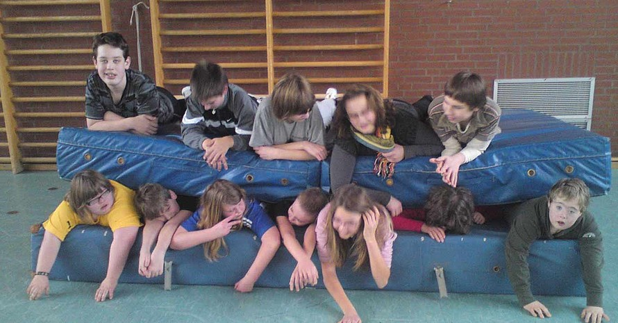 Bestanden! Die Kinder der Lebenshilfeschule am Waldkater (Quelle: Heike Nolting)
