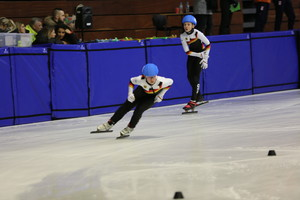 Die deutsche Mixed-Teamstaffel in Action. Foto: DOSB