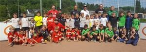 Die teilnehmenden Mannschaften des F Jugend Turniers 436426