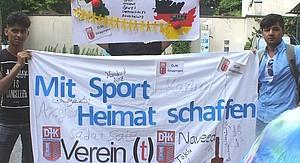 Sport schafft Heimat. Foto: DJK Göggingen