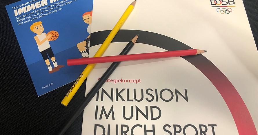 """Qualifizierungen sind ein Teil des DOSB Strategiekonzeptes """"Inklusion im und durch Sport"""""""