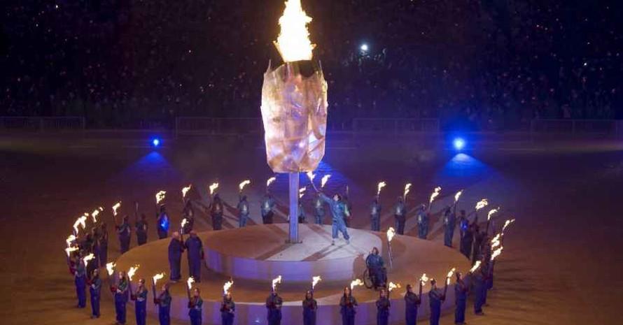 Die Flamme der X. Winter-Paralympics in Vancouver  brennt bis zum 21. März. Copyright: picture-alliance