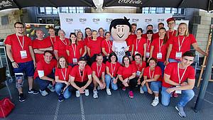 Jetzt bewerben und Volunteer beim Olympic Day 2019 werden. Foto: DOA