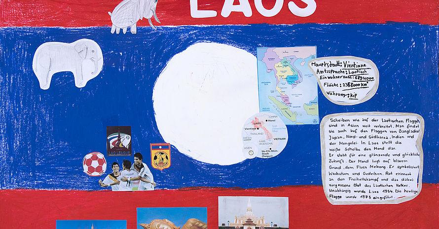 Laos Kolumbus-Grundschule Team 1