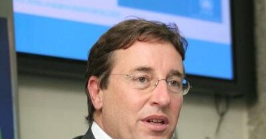 UNEP-Chef Achim Steiner hatte in Nairobi gute Nachrichten für die Organisatoren der Olympischen Spiele in Peking 2008. Copyright: picture-alliance