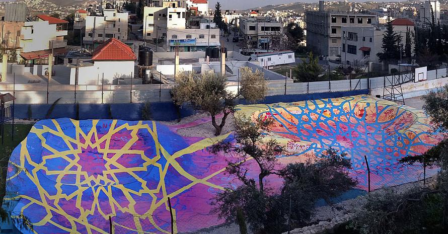 Skatepark in Bethlehem © Samantha Robison