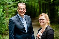 Jörg Brokamp und Claudia Behnke bei der Auftaktveranstaltung am 08./09. Juli 2016 in Frankfurt. Foto: bewahrediezeit.de