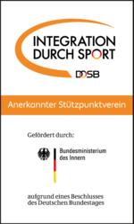 DOSB IdS Logo Button Stuetzpunktverein Farbe web