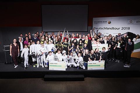 Die fröhlichen Sieger aus Essen 2018. Bild: Das Grüne Band