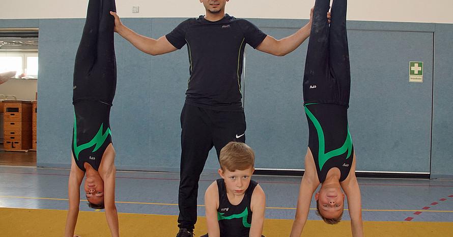 Inzwischen trainiert Mohamad Khier Ashour eigenverantwortlich die Jungs des TV Hersfeld 1848. Foto: Koenig