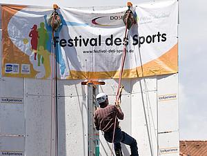 Das Festival des Sports zu Gast in der Hauptstadt.