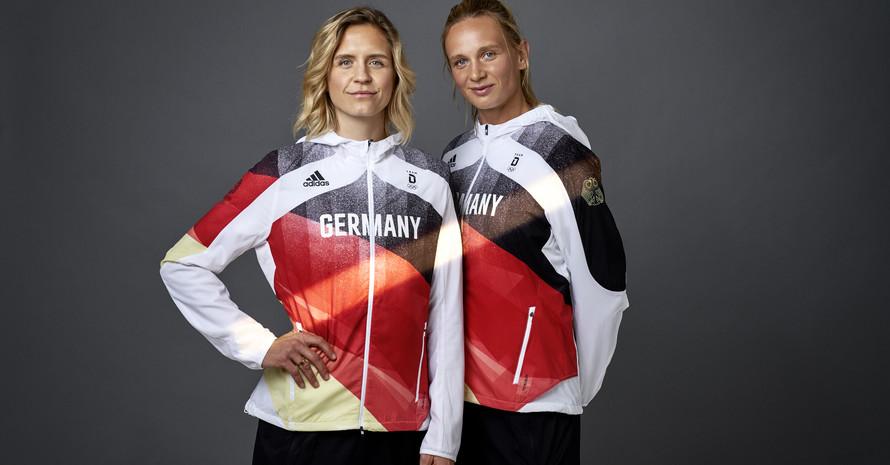 Podium Ludwig & Kozuch, Quelle: Team D/adidas