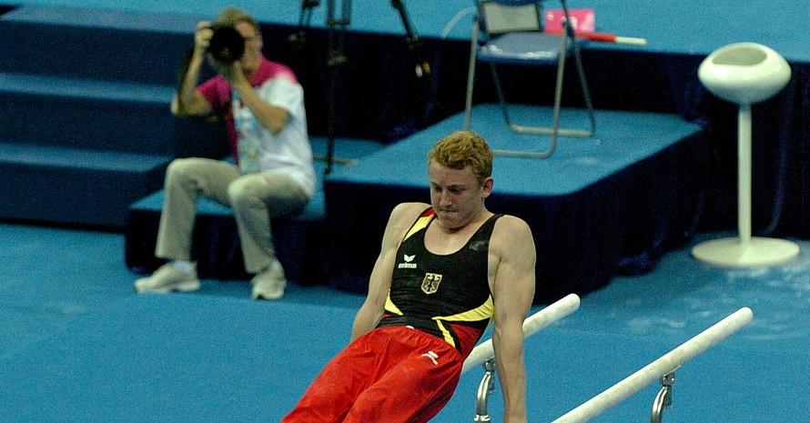 Turner Niels Dunkel qualifizierte sich am Sonntag fürs Mehrkampf-Finale sowie das Barren-Finale. Alle Fotos: DOSB
