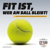 Motiv »Tennisball«