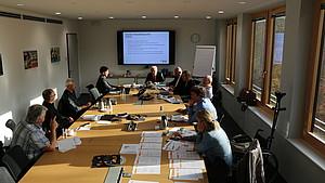 Die Jurymitglieder haben sich wie immer gut vorbereitet, damit man am Tag der Sitzung auch fundiert diskutieren konnte.