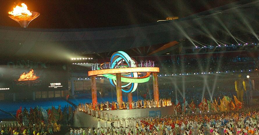 Die Flamme der zweiten Olympischen Jugendspiele brennt. Foto:DOSB