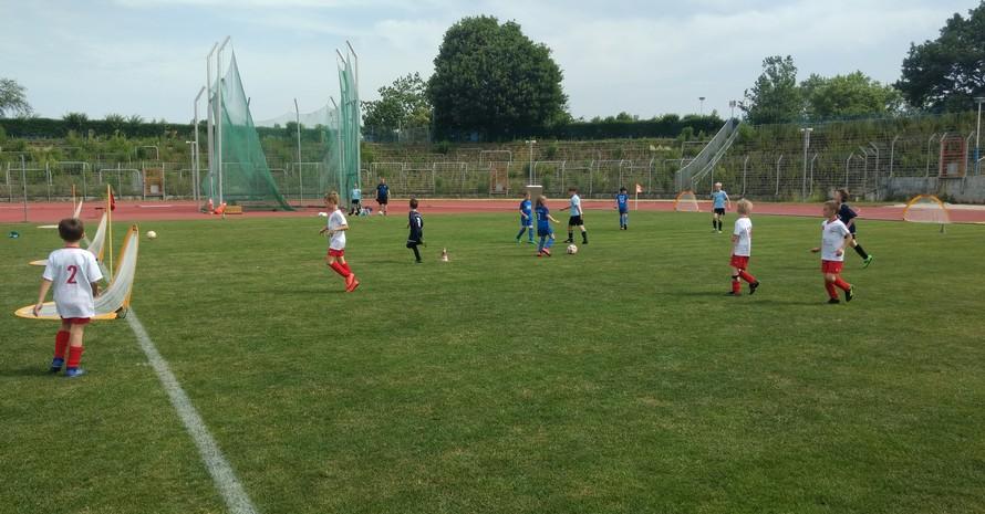 """""""FUNiño – Kinderfußball ohne Ausgrenzung""""  Foto: TSV IFA Chemnitz e.V."""