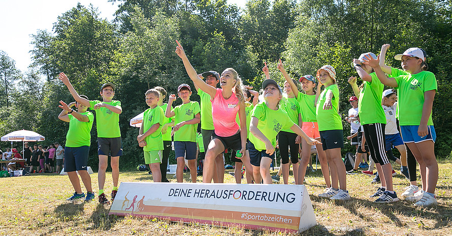 Miriam Höller coacht auch in Limbach-Oberfrohna (Foto: DOSB/Treudis Naß)