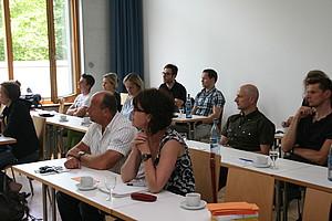 Teilnehmer/innen der Fortbildung Medikamentenmissbrauch im Breiten- und Freizeitssport in Stuttgart; Foto: DOSB