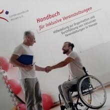 """Handbuch """"Inklusion im Sport"""" Quelle: LSB Hessen"""