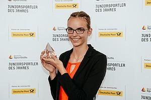 """Deutschlands Sportfans wählten Lea-Jasmin Rieke bei der öffentlichen Online-Wahl zur """"Juniorsportlerin des Jahres"""" 2018. Foto: picture-alliance"""