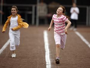 Mit dem neuen Wettkampfsystem hält die olympische Vielfalt Einzug in die Kinderleichtathletik. Foto: picture-alliance