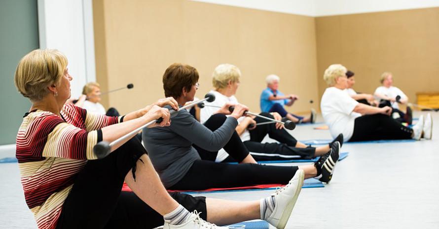Die große Zahl der über 60-Jährigen stellt die Sportvereine vor neue Herausforderungen. Foto: LSB NRW