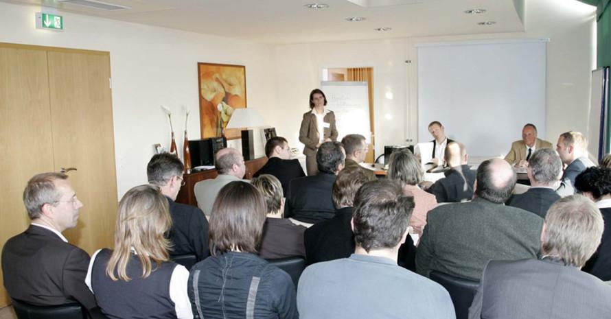Lernen während der Bundeskonferenz Sportentwicklung. Foto: Bildschön