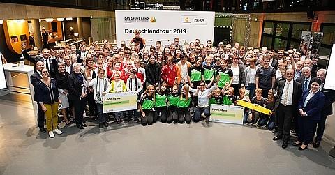 Die fröhlichen Sieger aus Dortmund 2019.  Foto: Markus Goetzke/DOSB