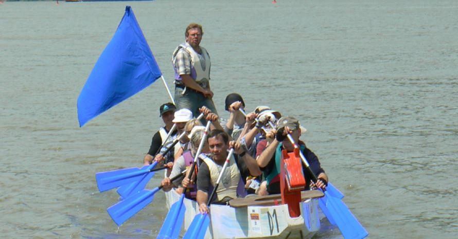 Unterwegs mit dem Fluss-Ranger auf den Gewässern des Rhein-Main-Gebiets.