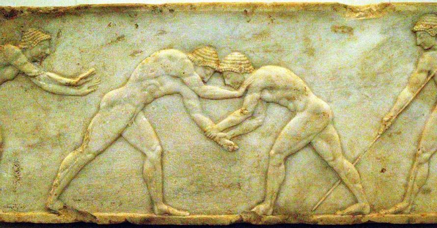 So könnte Sport bei den Olympischen Spielen der Antike ausgesehen haben. Foto: picture-alliance