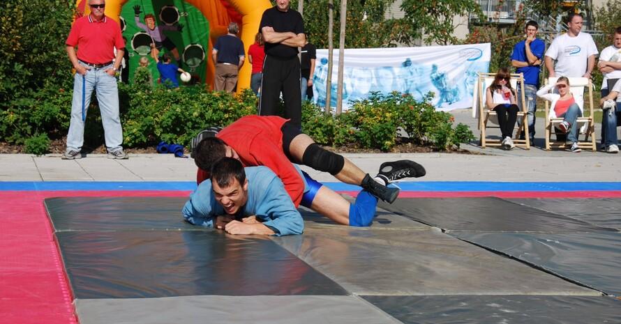 Präsentation Sambo (Foto: Integration durch Sport)