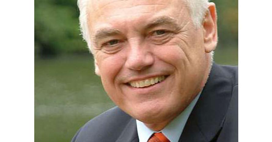 Präsentierte das Sportabzeichen in Frankfurt als Synonym für Lebensqualität, Fitness und Wohlbefinden: DOSB-Vizepräsident Walter Schneeloch