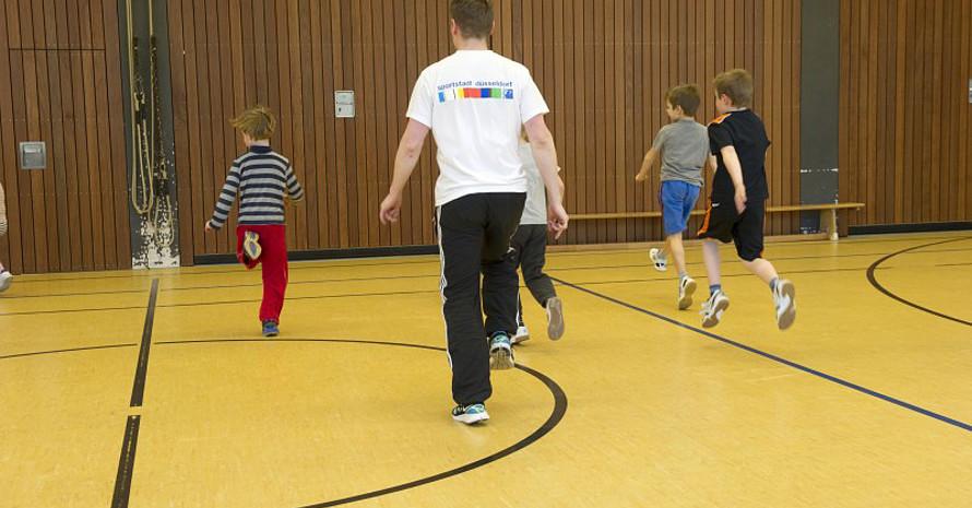 Die Kampagne soll die positiven Wechselwirkungen von Sport und Bildung unterstreichen. Foto: LSB NRW