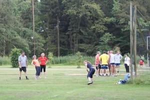 Training in idyllisch gelegener Sportanlage (Quelle: Prassek)