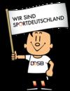 Trimmy – Fahne Sportdeutschland