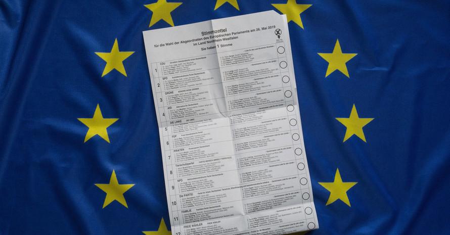 Vom 23. bis 26. Mai 2019 finden die Wahlen für das Europäische Parlament statt. Foto: picture-alliance