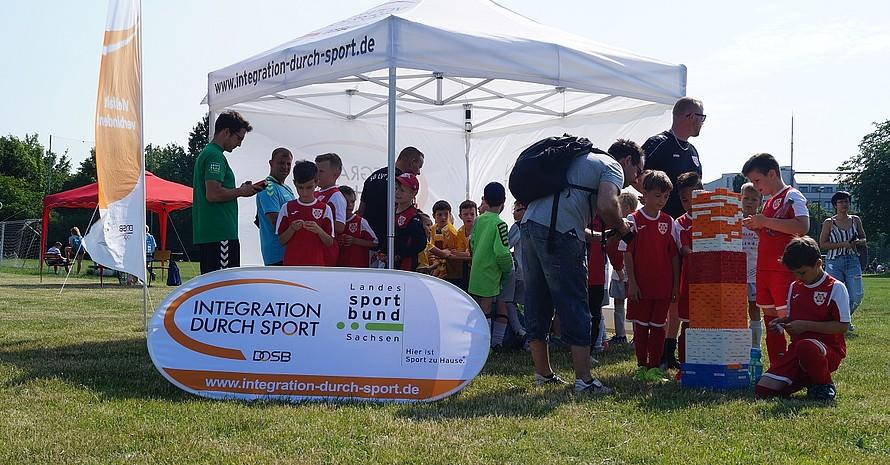Die Fairplay-Werkstatt als verbindendes Element zwischen Sport und Wertevermittlung (Foto: IdS Sachsen)