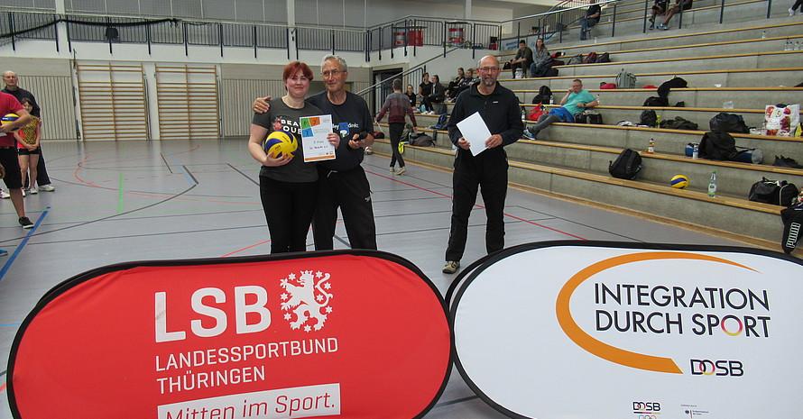 SG Reseda auch aus Erfurt freut sich über den 3. Platz.
