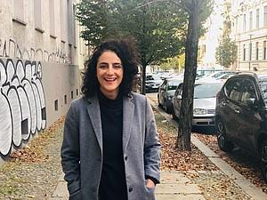 Tuğba Tekkal arbeitet nach ihrer Fußball-Profikarriere an politischen und sozialen Projekten. Foto: Frank Joung