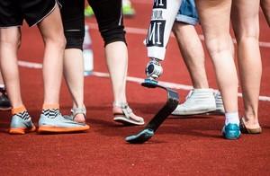 55 Prozent der Menschen mit Behinderung geben im Teilhabebericht an, nie Sport zu treiben. Foto: picture-alliance/DBS