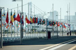 Blick ins Olympische Dorf von Tokio. Foto: DOSB