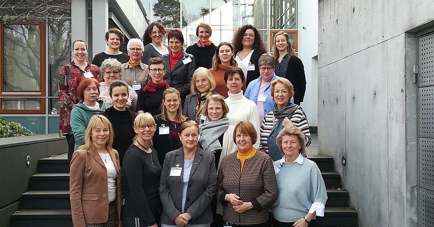 Teilnehmerinnen beim Treffen der Frauen- und Gleichstellungsbeauftragten der Spitzensportverbände sowie der Verbände mit besonderen Aufgaben; Foto: privat