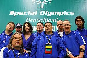 Judoka bei den Special Olympics National Games 2010 in Bremen. Foto: SOD