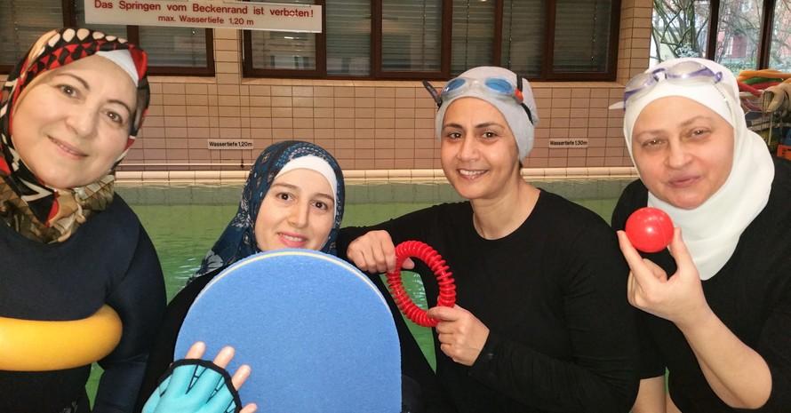 Schwimmkurs für Frauen in Bremen