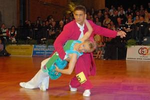 Karl-Heinz Stahl und Silvia Gauss, Boogie-Woogie Senior-Paar, errangen bei der EM 2010 den 3. Platz. Foto: GOC