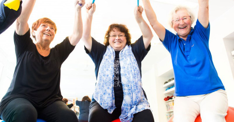 Sport födert das Wohlbefinden nicht nur durch Bewegung, sondern auch durch soziale Kontakte. Foto: LSB NRW