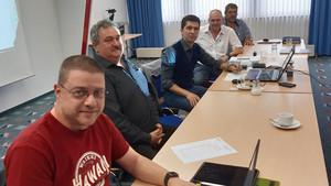 Zukünftiges Führungsteam: Jörg Brochhausen, Winfried Matheis, Michael Sandner, Bodo Wermke und Adi Seidl (v.l.) Foto: DDV/Jürgen Rollmann